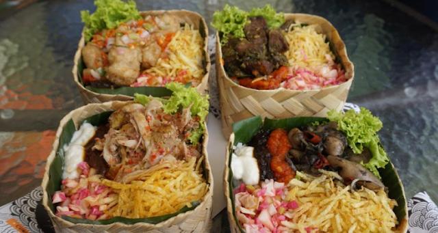 Nasi Kotak Box Zero Waste