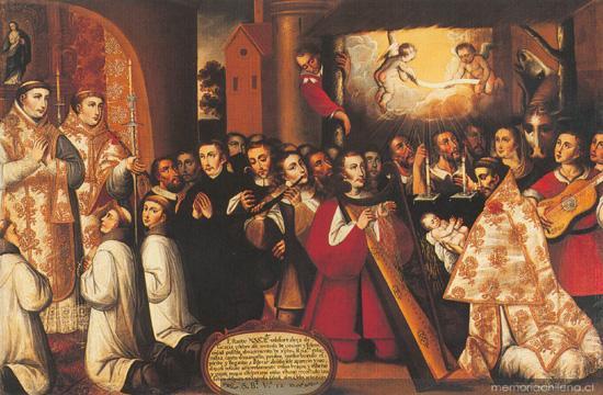 Música Chilena En La época Colonial 2016