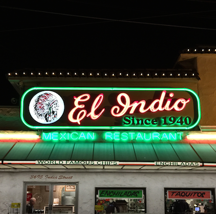 El Indio as seen on Diners, Drive-Ins and Dives