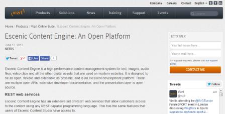 content management system beispiel