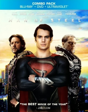 Poster Of Man of Steel 2013 In Hindi Bluray 720P Free Download