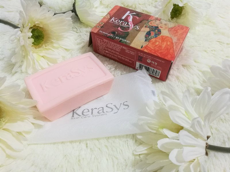 limited-edition KeraSys bath soap review