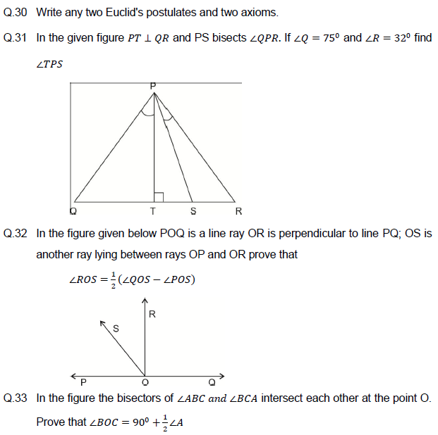 Sample paper IX  Mathematics,model paper for class 9 maths,important questions,previous year  papers,
