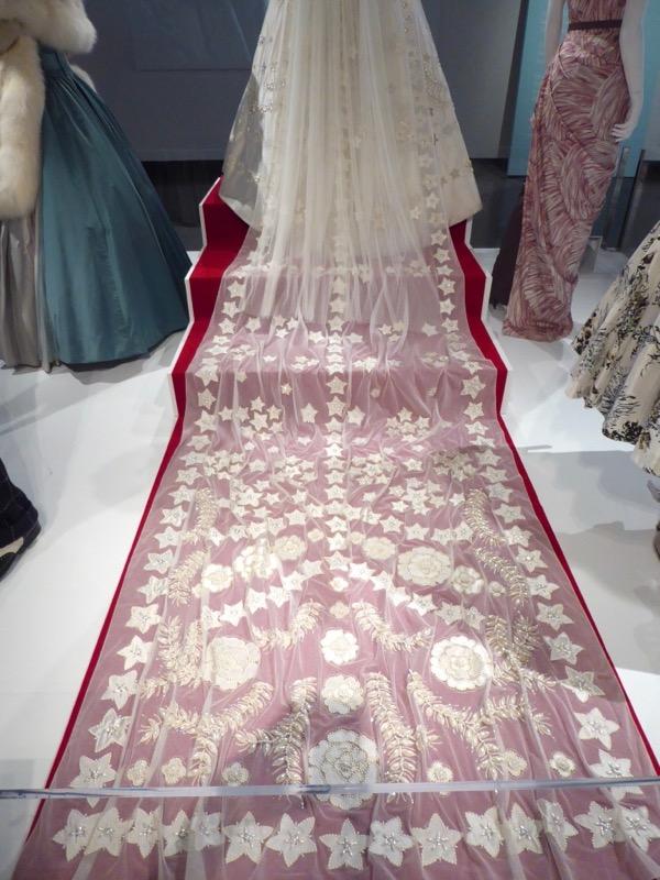 Crown Princess Elizabeth Wedding Dress train