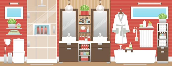 Una pizca de hogar 10 trucos para limpiar el ba o m s r pido for Trucos para limpiar el bano