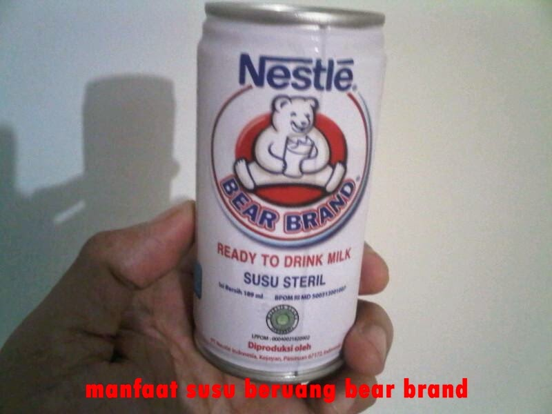 Ini Dia Manfaat Susu Beruang, Sudah Coba ?