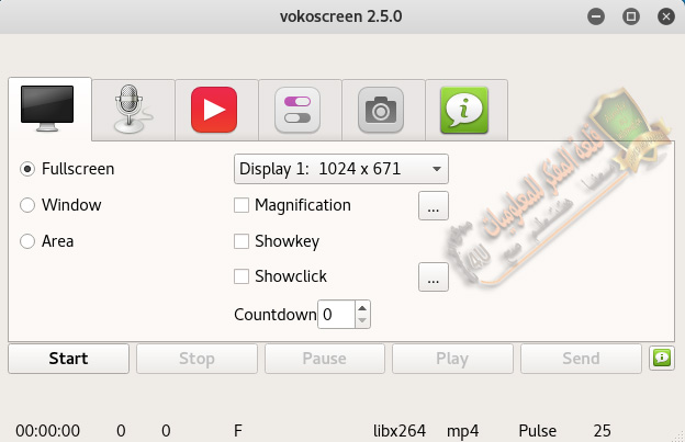 Install vokoscreen on Linux system
