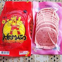 Daging Burger Hemato - Daging Burger Hemato isi 10 pcs