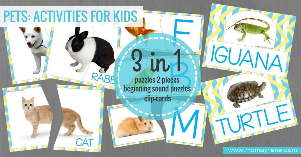 FREEBIES-PETS-ACTIVITIES-KIDS-PREESCOLAR-PRESCHOOL-MAMAYNENE-RECURSOS-EDUCATIVOS-INFANTIL