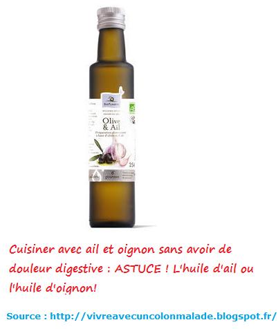 L 39 huile infus e cuisiner avec ail et oignon sans douleur - Cuisiner chez soi et vendre ses plats ...