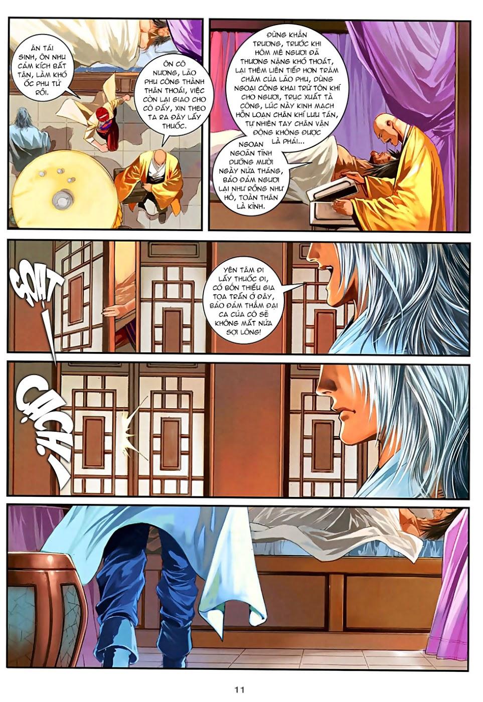 Ôn Thuỵ An Quần Hiệp Truyện Phần 2 chapter 30 trang 12