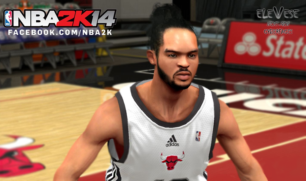 NBA 2K14 Joakim Noah Cyberface Patch