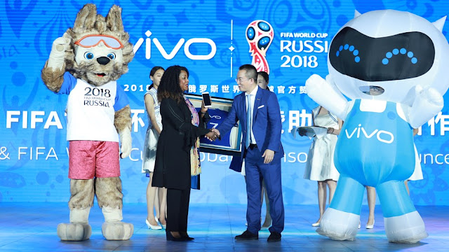 FIFA Holds Vivo So Official Mobile World Cup 2018 and 2022