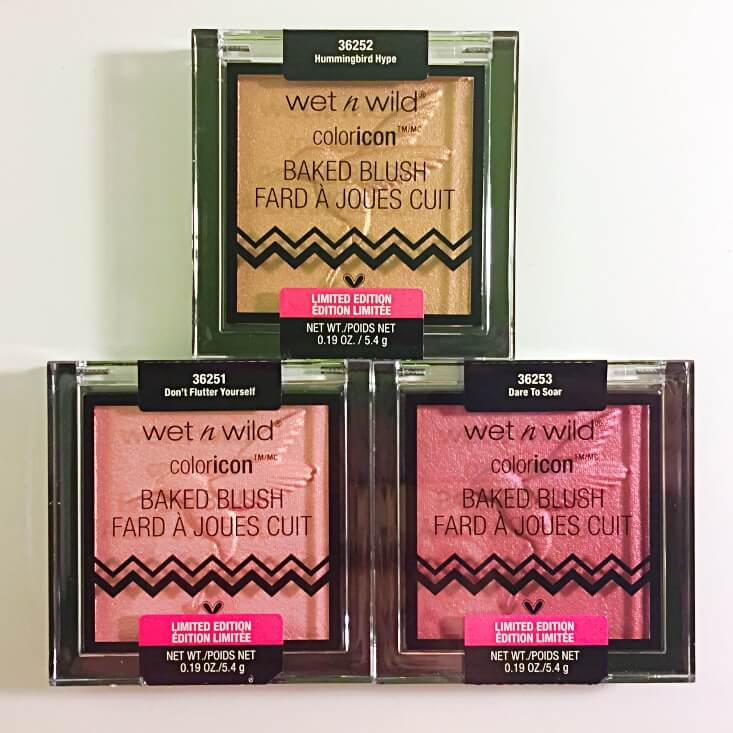 wet n wild coloricon Baked Blushes