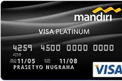 Limit Kartu Kredit Bank mandiri Berdasarkan Logo Kartu Terbaru 2019