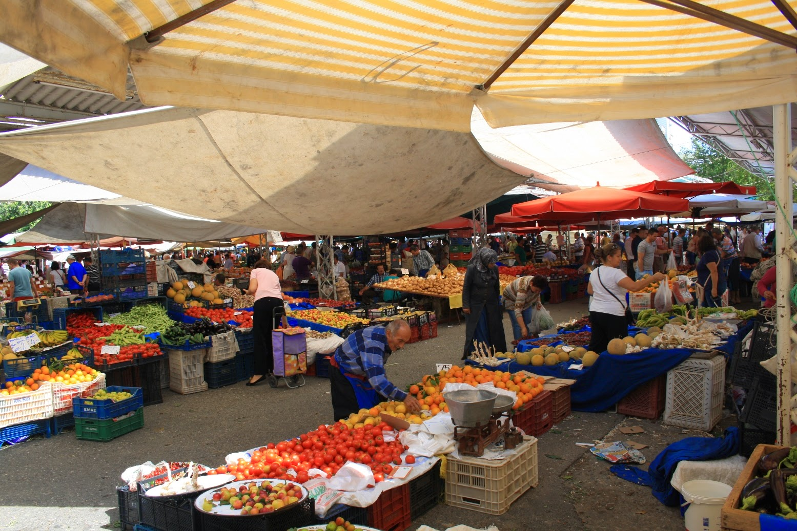 Türkischer Markt in Alanya