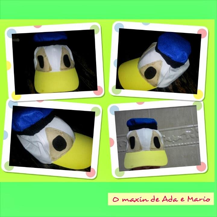 Maxín de Ada e Mario: Careta del Pato Donald