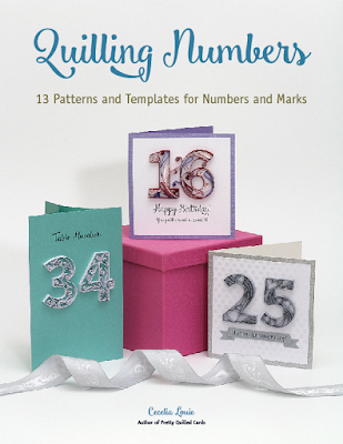 Quilling Numbers E-book of Patterns and Templates