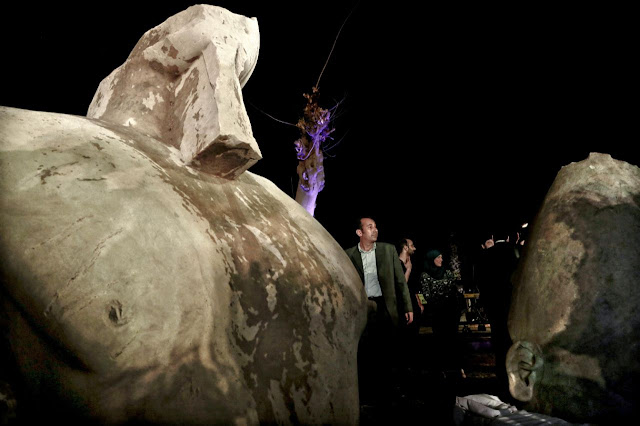 Recently unearthed Egyptian colossus not Ramses II