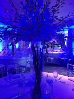 Flower centerpiece wedding reception