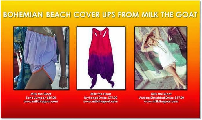 Bohemian Beach Cover Ups for Summer 2014