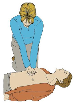 elektrik çarpması ve ilk yardım, kalp masajı yapmak