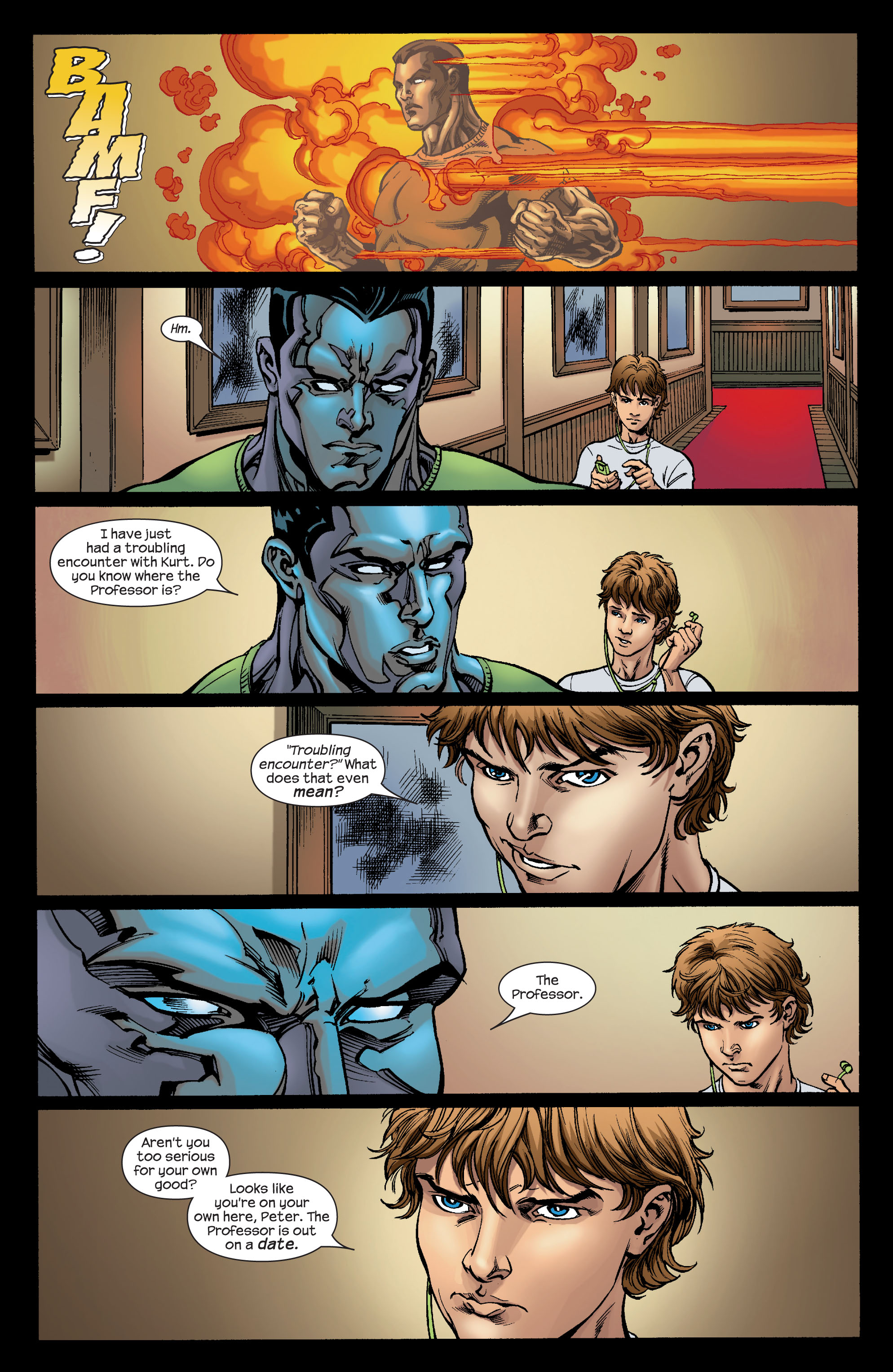 Read online Ultimate X-Men comic -  Issue #74 - 19