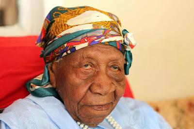 Violet - WORLD NEWS: World's oldest person dies in Jamaica