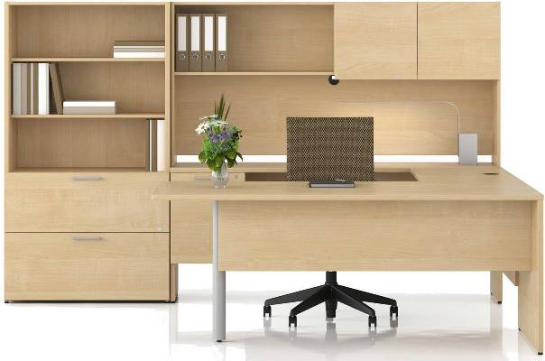 . Unfinished Solid Oak Wood OFFICE FURNITURE for the Home
