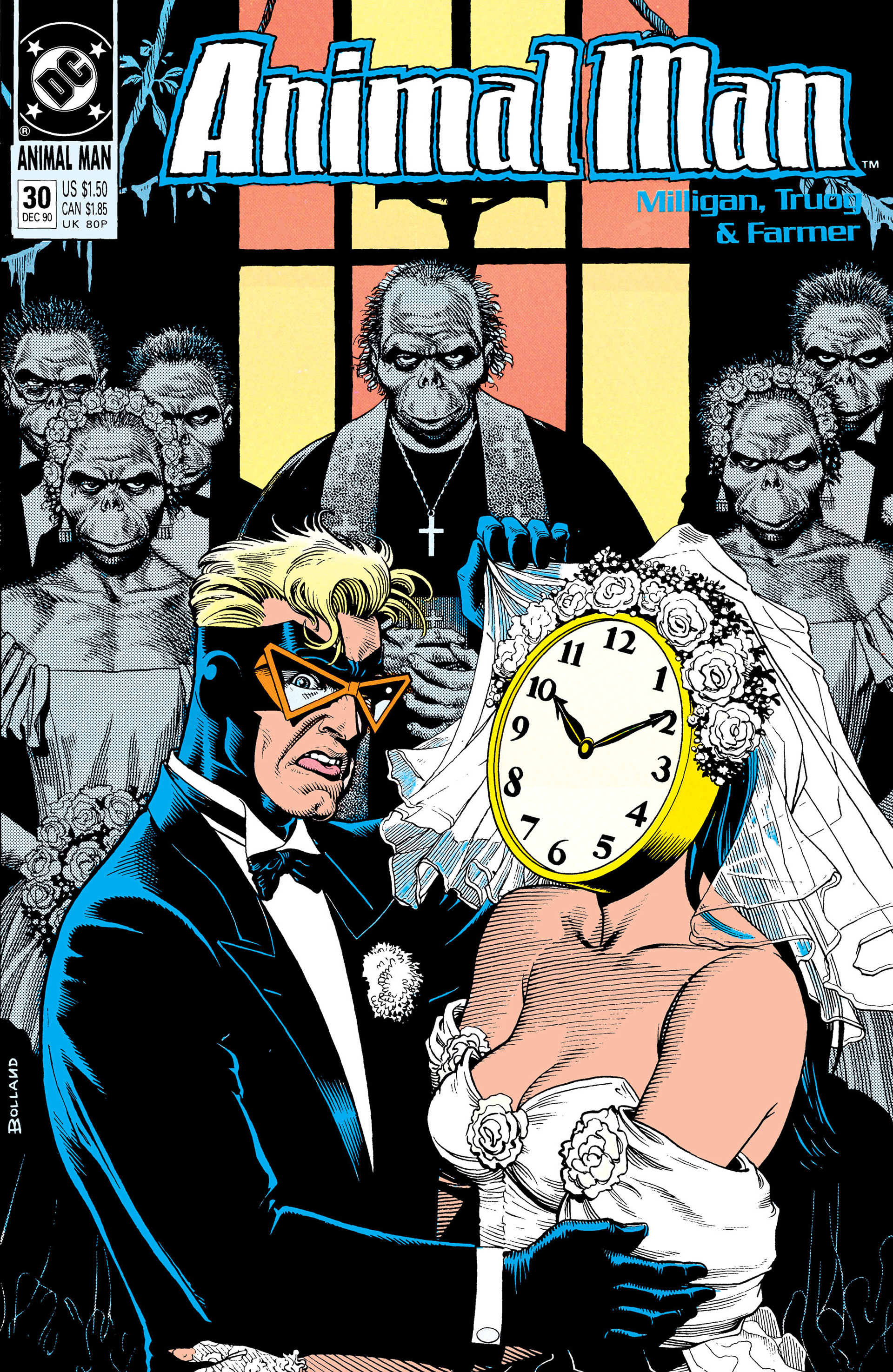 Read online Animal Man (1988) comic -  Issue #30 - 1