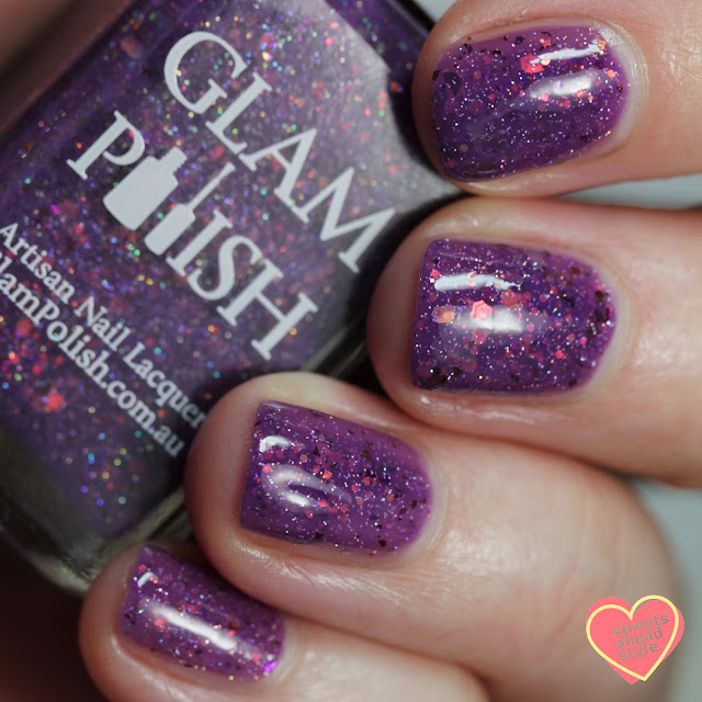 Glam Polish Much More To You, Than Meets The Eye 2.0 swatch by Streets Ahead Style