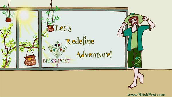 Let's Redefine Adventure (Illustrator: Sneha)