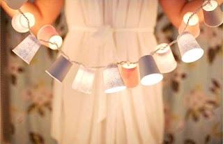 Cara Membuat Kerajinan Tangan Yang Mudah, Lampu Gelas Plastik