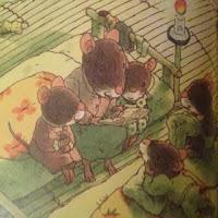 La famille souris se couche - Kazuo Iwamura - L'Ecole des loisirs