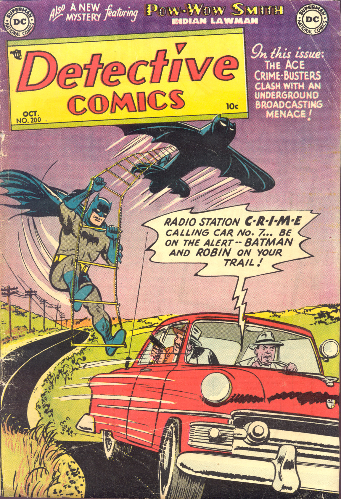 Read online Detective Comics (1937) comic -  Issue #200 - 1