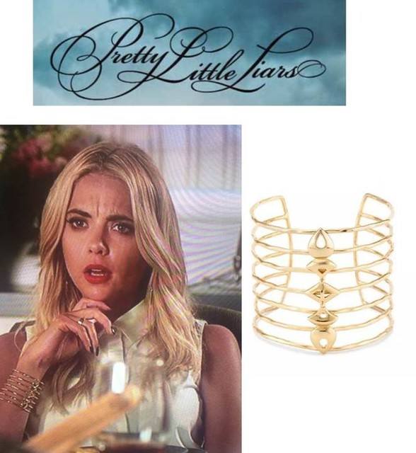 Pretty Little Liars Ashley Benson in Stella & Dot Becker Cuff