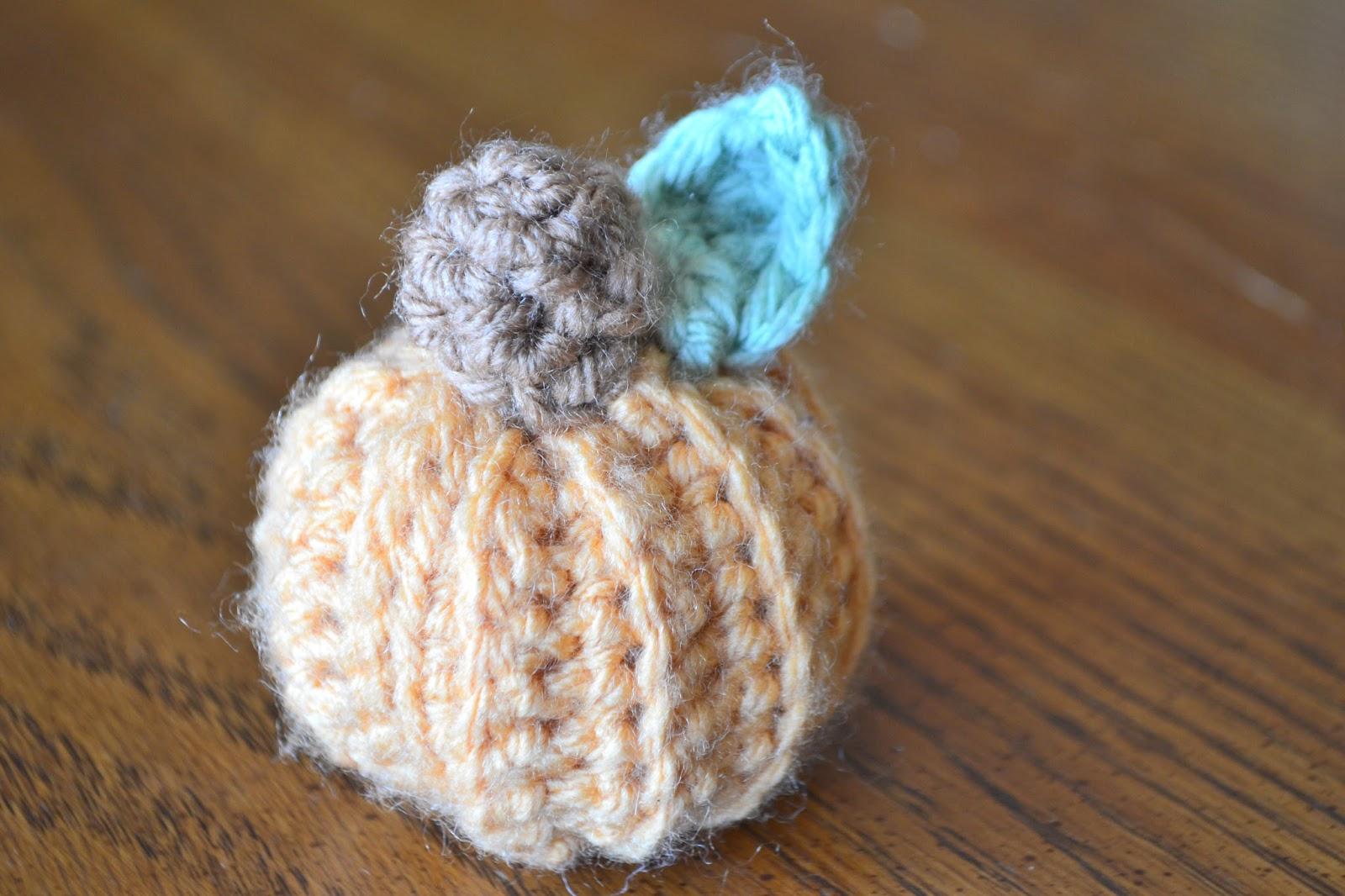 Cast Iron Stew Small Crochet Pumpkin