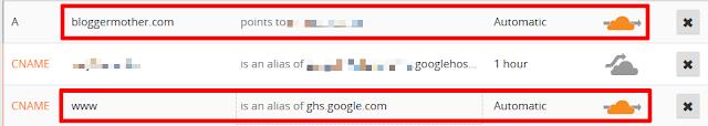 Activate domain on CloudFlare CDN (Orange cloud)