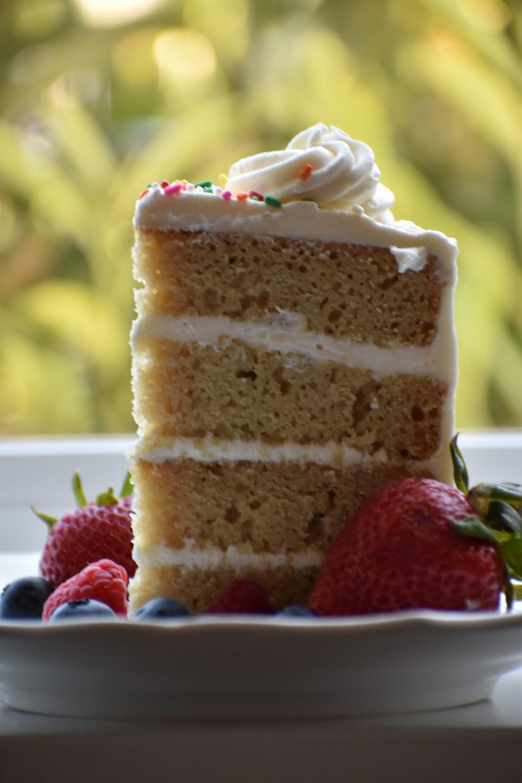 Easy Gluten And Dairy Free Vanilla Cake The Best Gluten