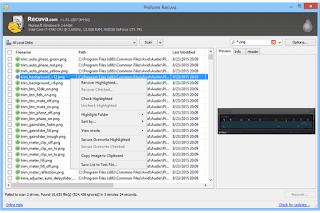 تحميل برنامج ريكوفا Recuva لاسترجاع الملفات المحذوفة