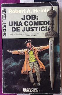 Portada del libro Job: una comedia de justicia, de Robert A. Heinlein