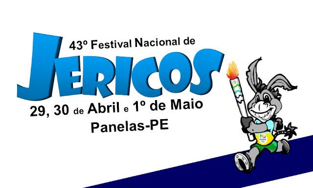 Programação do Festival Nacional de Jericos 2016