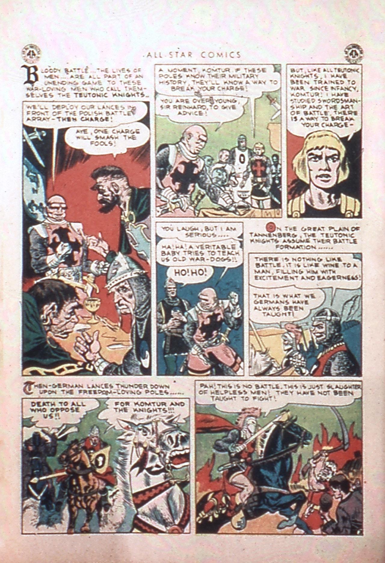 Read online All-Star Comics comic -  Issue #24 - 10