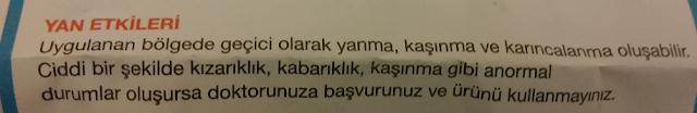 Tereson Yan Etkileri