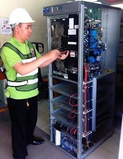 Kiểm tra bảo dưỡng sửa chữa  ups APC 1kVA