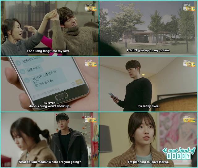 ji taek stop noh eul from leaving korea - controllably Fond - Episode 12 Review - Korean Drama 2016