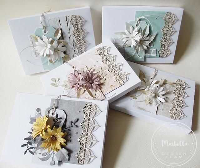 Kwiatowe pudełka z Pretty mesh