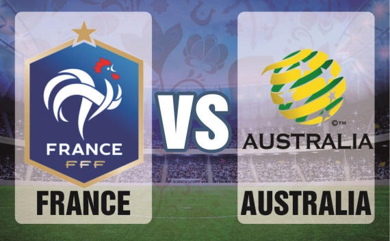 European heavyweights, France, are strong favourites to beat Australia