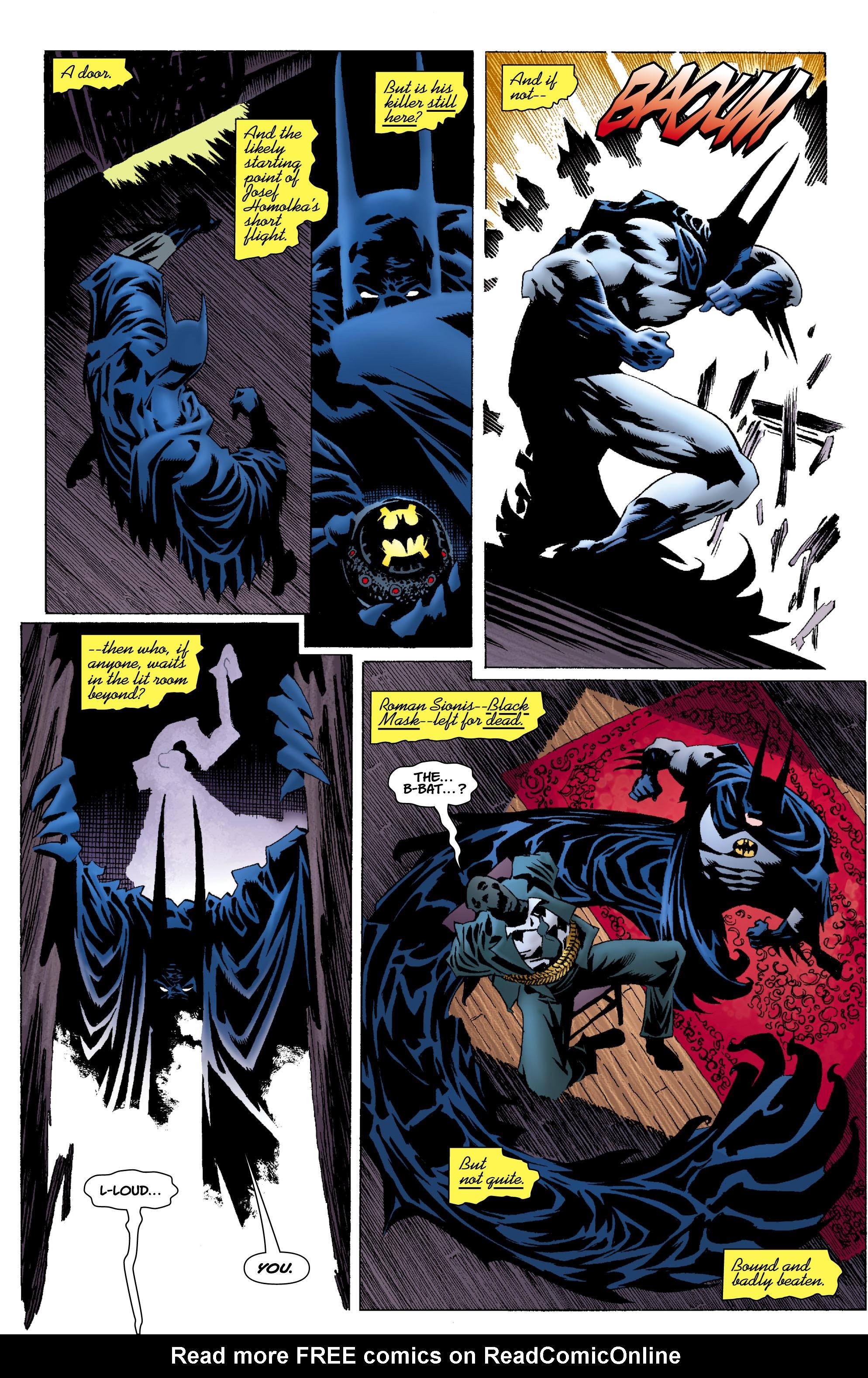 Read online Batman: Unseen comic -  Issue #4 - 8