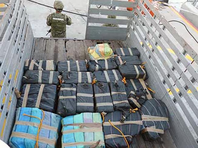MARINOS le quitaron 11 toneladas de Coca a Narcos